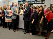 NCC Student and Enrollment Services employees received the 2014 Pride Award.