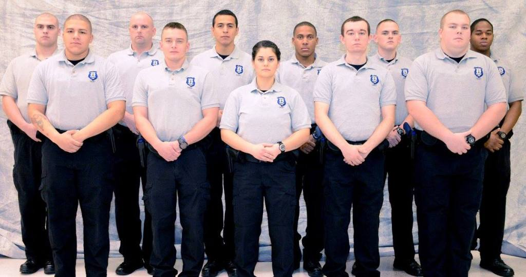 Graduates of NCC's Fortieth Basic Law Enforcement Training Academy
