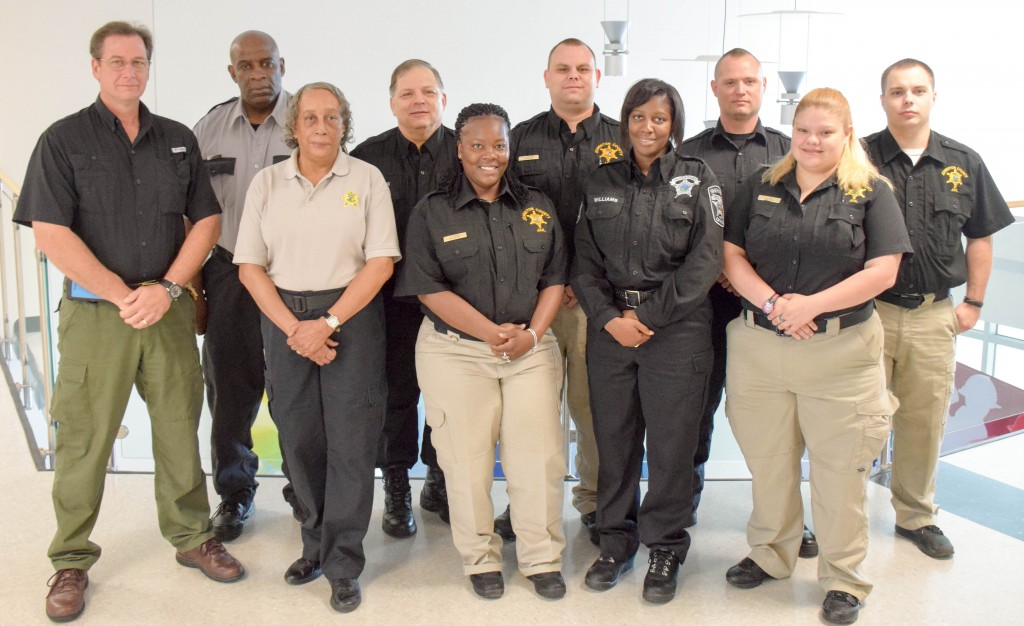 Students Complete Detention Officer Training