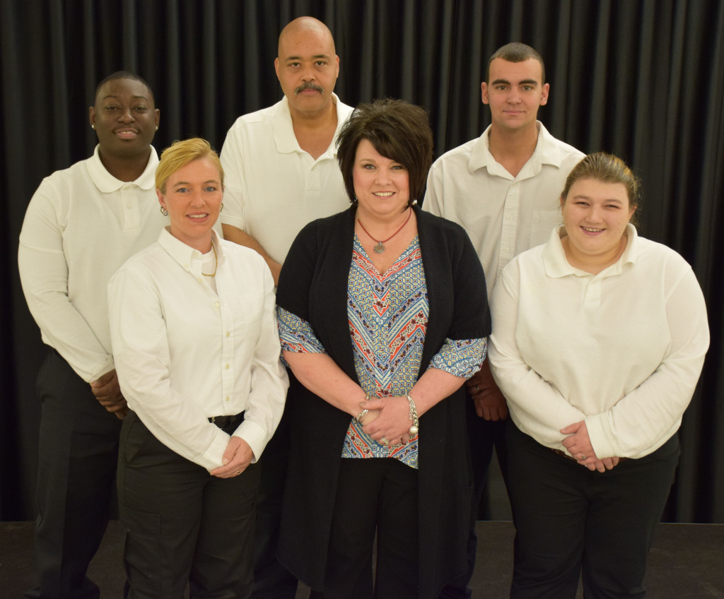 EMT Basic Class First Row - Kelly Howell, Joddy Amerson - Instructor, Lauren Kidd Second Row - Steven Johnson, Frederick Allen, Dudley Lynch