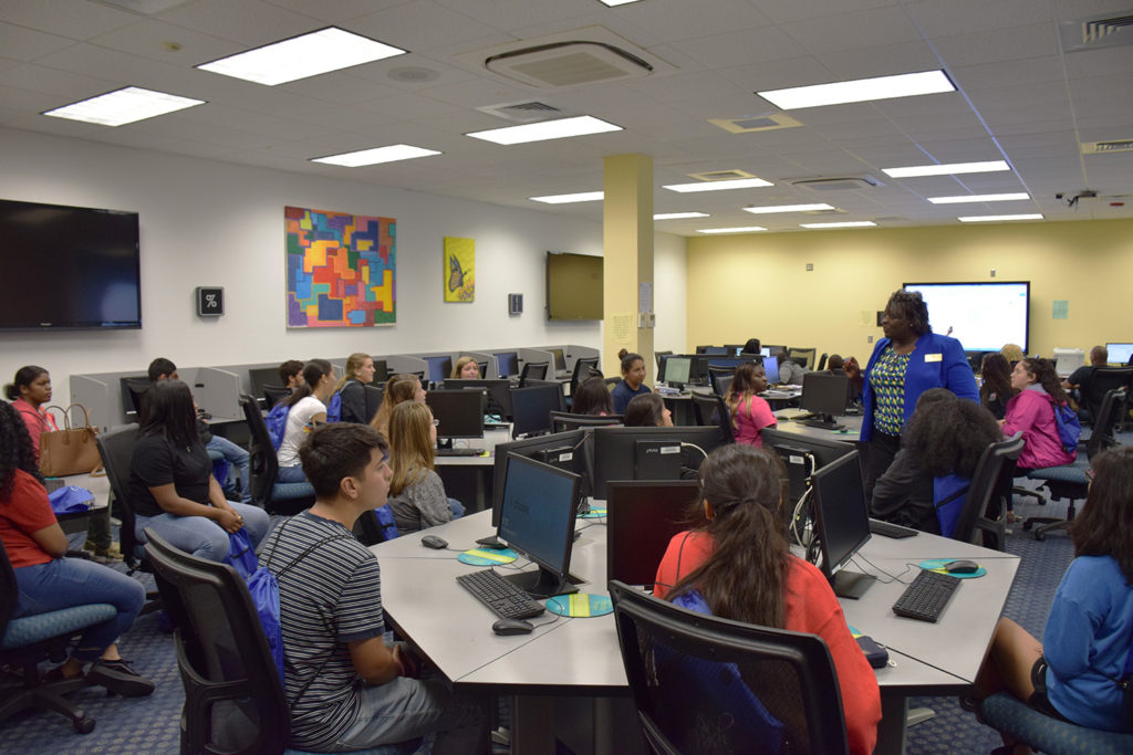 Area Students Tour NCC For College Day